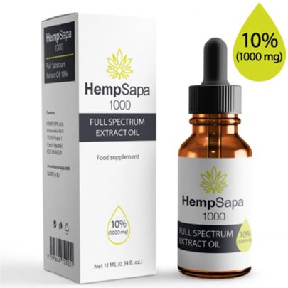 10% CBD Oil from Hemp by HempSapa - Vietnam Hemp Shop
