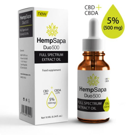 Tinh dầu (CBD+CBDA) 5% từ Gai dầu của HempSapa