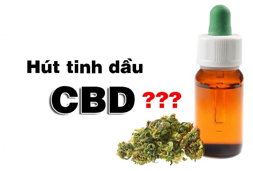 Bạn có thể hút tinh dầu CBD hay không? - Shop Gai dầu